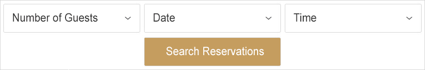 Image of the Tock Online Reservations